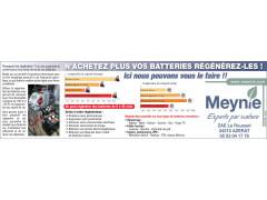 N'achetez plus vos batteries régénérer les!!! Ici c'est possible