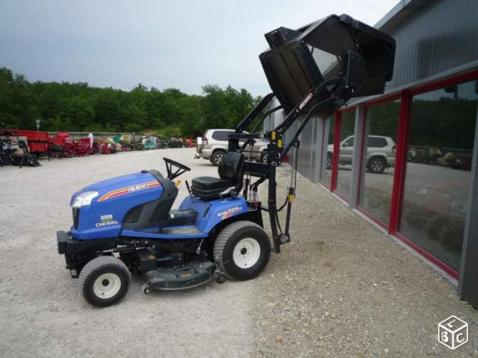 location tracteur tondeuse iseki