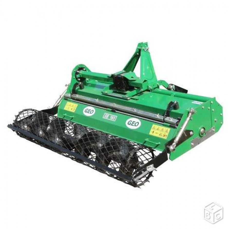 enfouisseur de pierres 105cm outils micro tracteurs. Black Bedroom Furniture Sets. Home Design Ideas