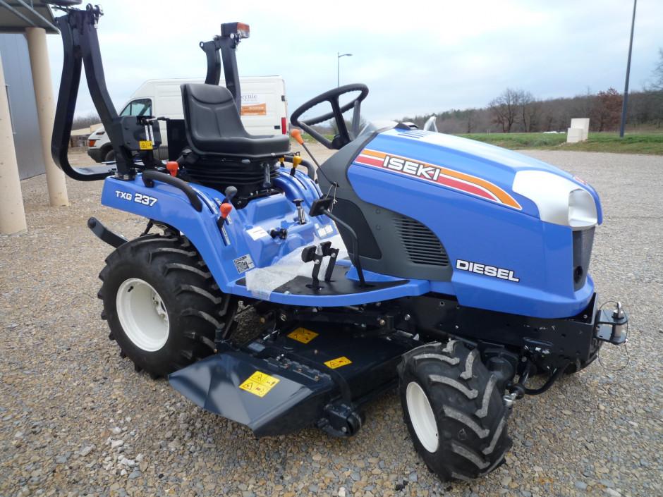 Micro tracteur iseki txg 237 - Cars et les tracteurs ...