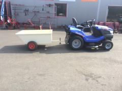 Remorque fixe pour tondeuse autoportée. R400