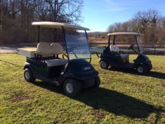 Golfette Club car avec batteries neuves
