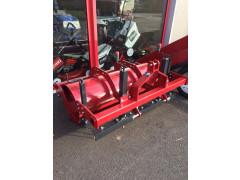 Rouleau engazonneur sur micro tracteur 140cm