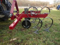 Module de sarclage complet avec roue de terrage + châssis + barre d'extension 150