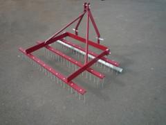 Herse scarificateur de pelouse largeur 120 cm